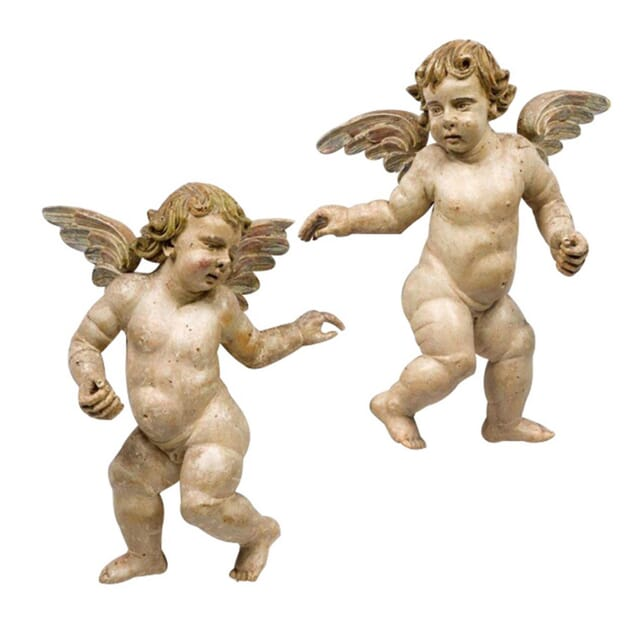 Pair of Winged Putti DA165103