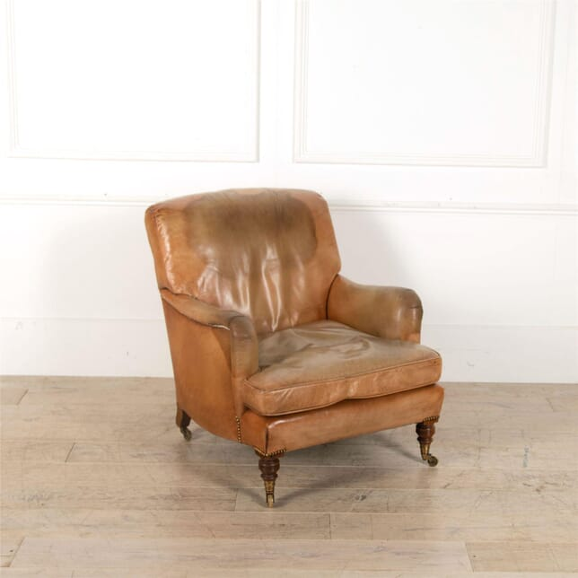 Howard and Sons Leather Bridgewater Armchair CH417211