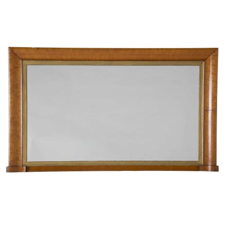 19th Century Maple Wall Mirror MI0353487