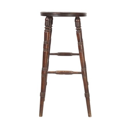 Tall Wooden Bar Stool ST5557999