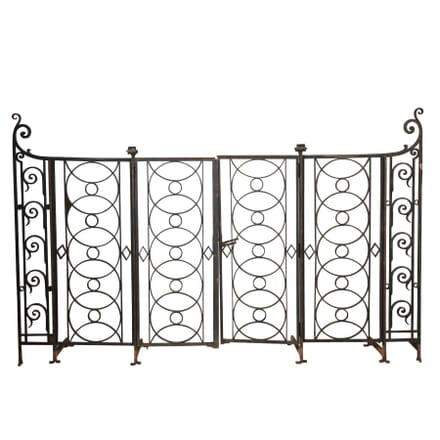 Pair of French Iron Gates GA4513101