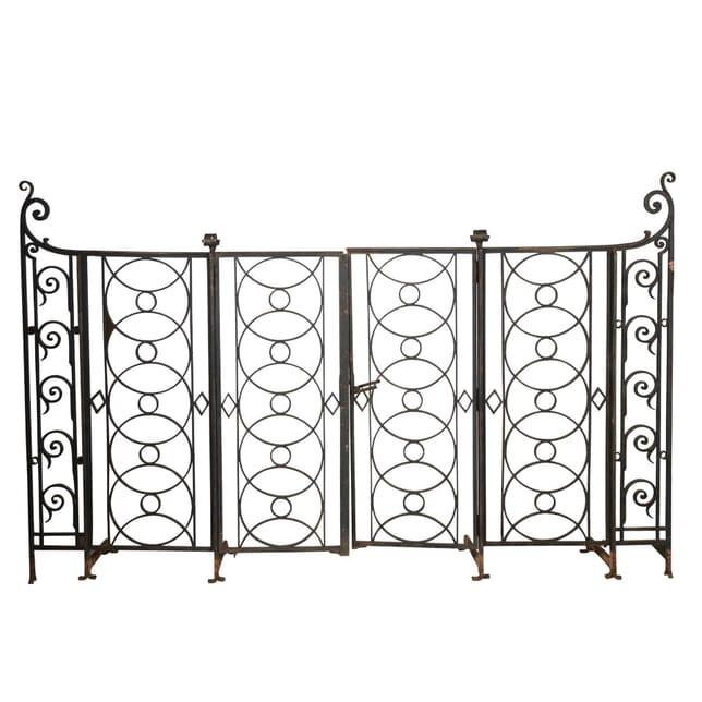 Pair of French Iron Gates GA4513101