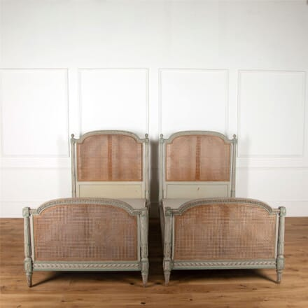 Pair of French Empire Beds BD287353