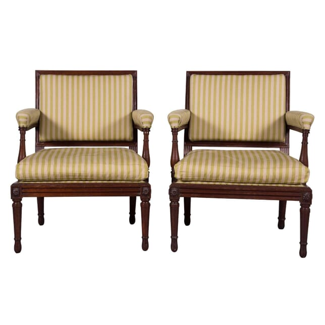 Pair of George III Armchairs CH2759037