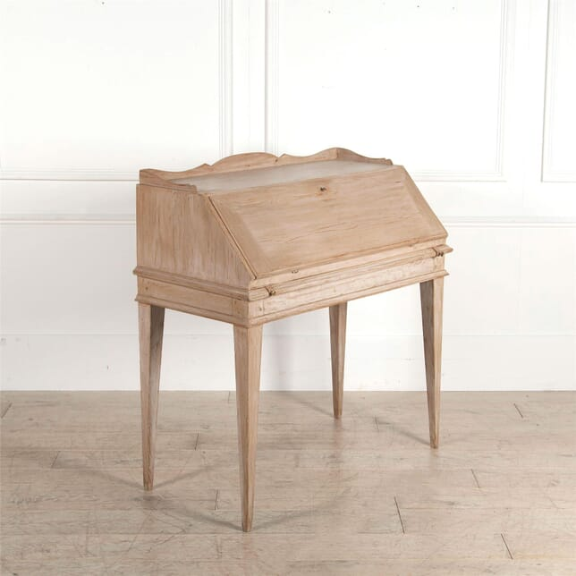 19th Century Swedish Pine Slope-Topped Desk DB4462496