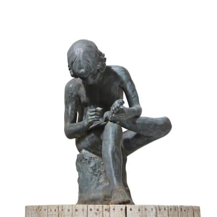 19th Century Bronze Statue DA127459