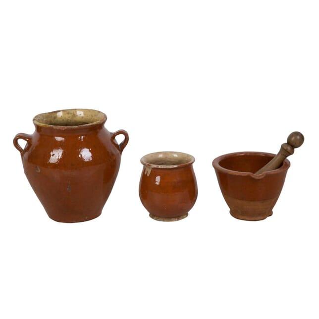 Glazed Pottery from the Cevennes DA0113692