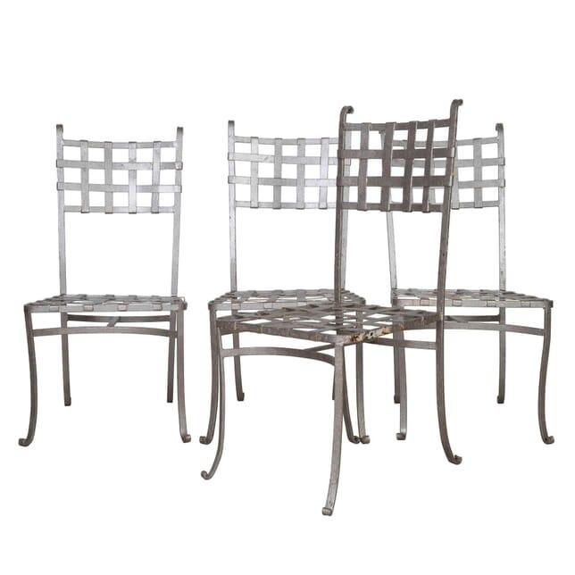 Set of Four Metal Chairs GA0253829
