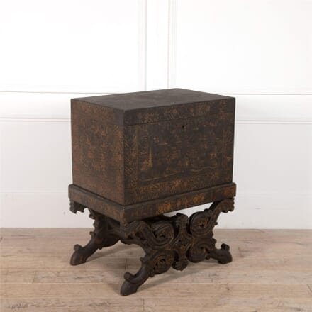 19th Century Indian Chinoiserie Chest On Stand CC0962372