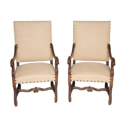Pair of Throne Chairs CH4356017