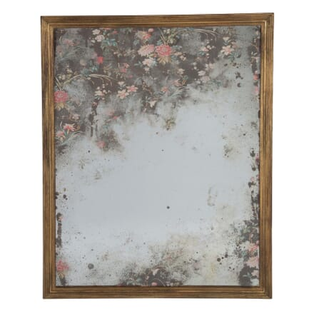 Floral Textile Mirror by Huw Griffith MI9959280