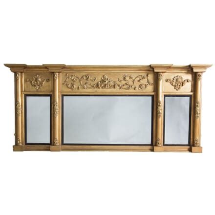 19th Century Gilt Overmantle Mirror MI036480