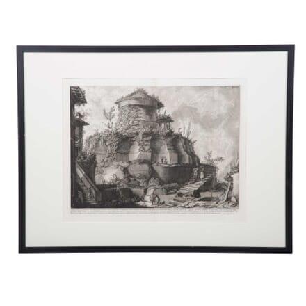 18th Piranesi Lithograph Print WD3759097