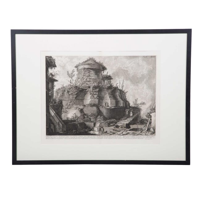 18th Piranesi Lithograph Print WD3759097