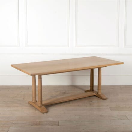 Heals Tilden Limed Oak Refectory Dining Table TD0562586