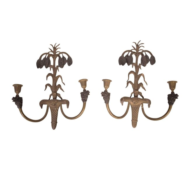 Pair of 19th Century Candle Sconces LW5558036