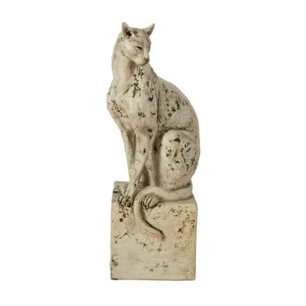 Ceramic Sculpture of a Cat by Tanya Brett DA1661037