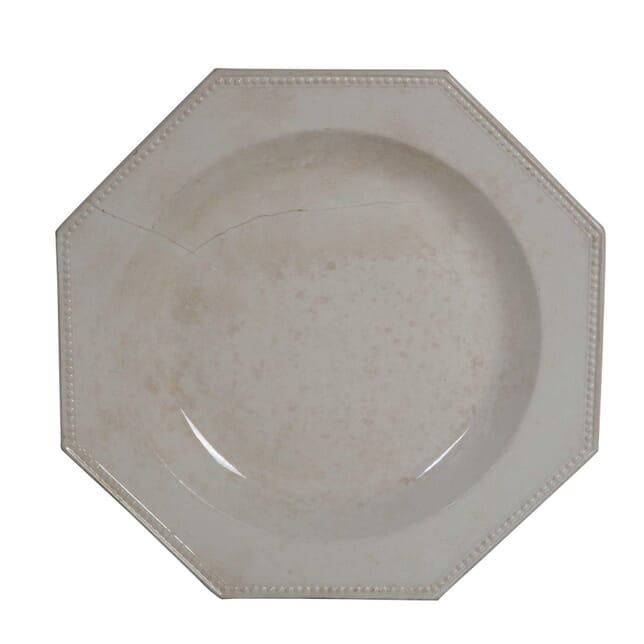 19th Century Creamware Platter DA0155556