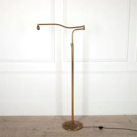 Italian Articulated Brass Lamp LF4861681