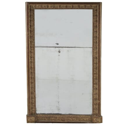 Early 19th Century Carved Wood Gilt Mirror MI2959976