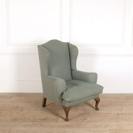 Green Upholstered English Wingback CH287372