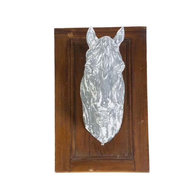 French Zinc Horse Head DA1511761