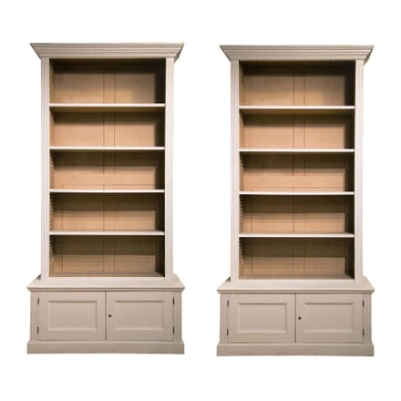 Pair of Country House Bookcases BK239463