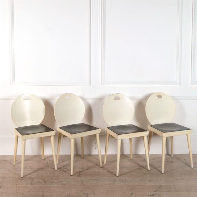 Set of Four Lacquered Chairs CD3062185