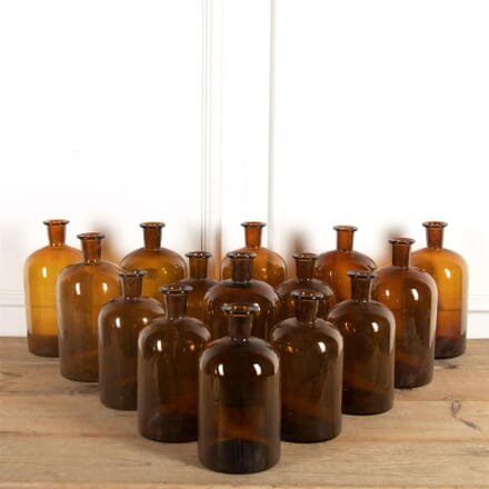 Amber Glass Bottles DA9061302