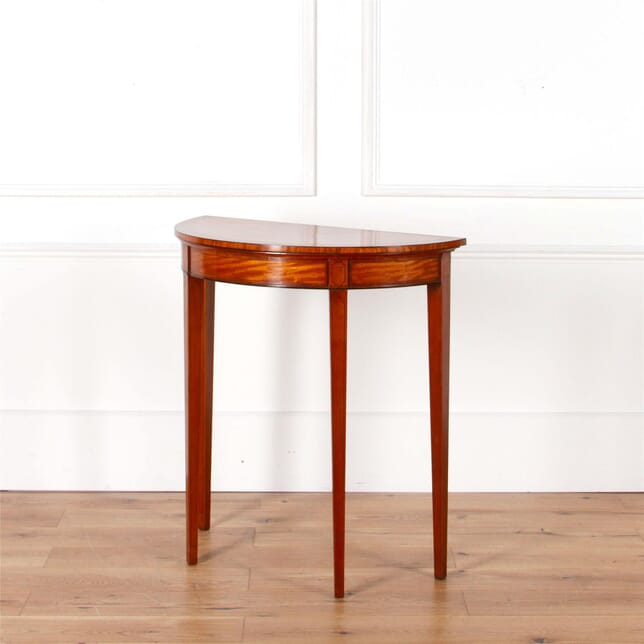A Sheraton Period Satinwood Side Table TS1062109