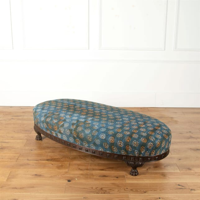 19th Century Carved Wood Ottoman ST2362620