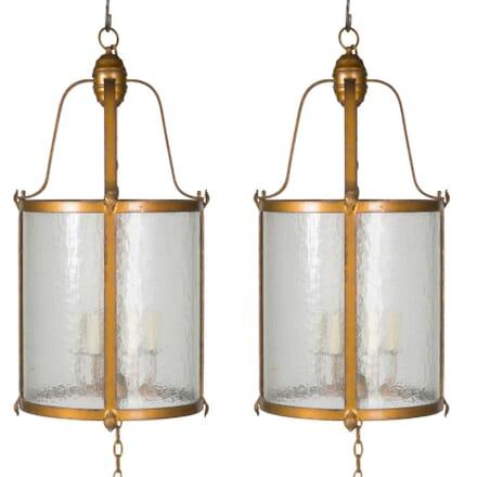 Pair of Cylindrical Lanterns LL5456692
