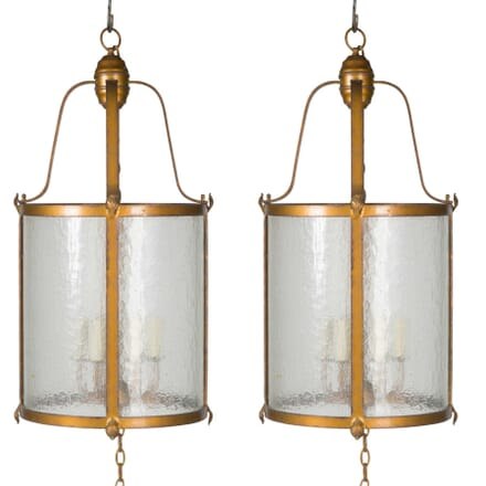 Pair of Cylindrical Lanterns LL5456692