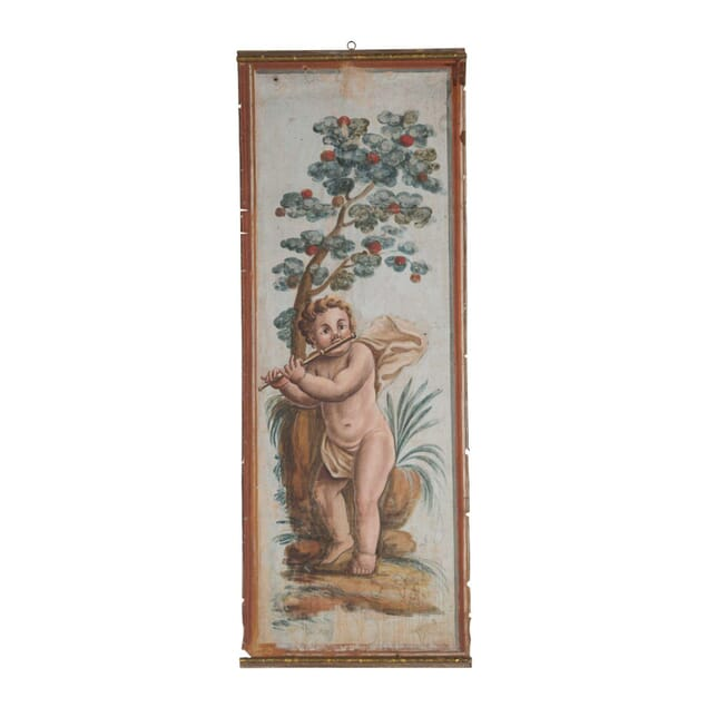 19th Century Painting of a Cherub WD1557286