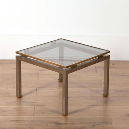 Brass Side Table by Guy Lefevre for Maison Jansen CO5762095