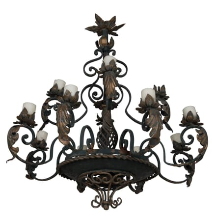 French Iron Chandelier LC0161620