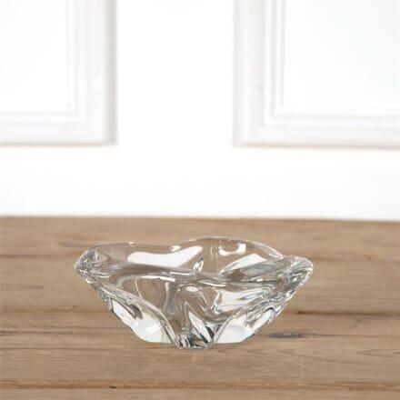 Large Daum Crystal Ashtray DA7162012
