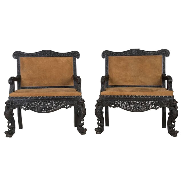 Pair Of Anglo Indian Sofas SB064898