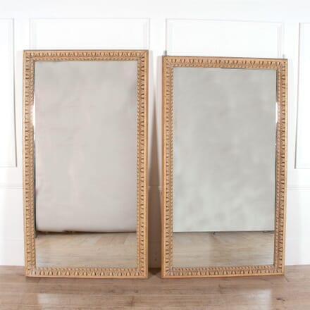 Pair of Carved Wood Wall Mirrors MI0158311