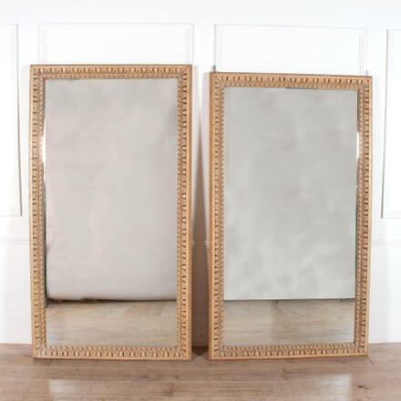 Carved Wood Wall Mirror MI0158311