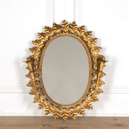 Spanish Sunburst Mirror Wall Light MI157716