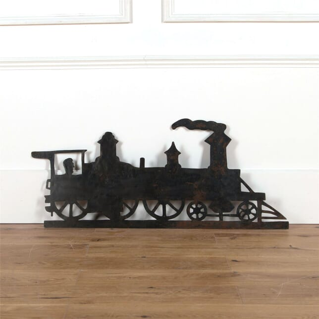 French 19th Century Train Weathervane GA3761811
