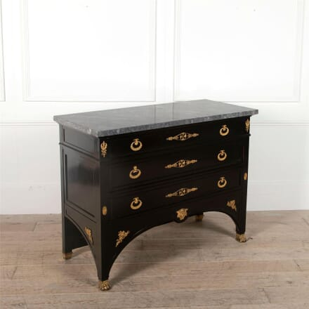 19th Century French Ebonised Commode by Ebeniste Bardie, Bordeaux CC5262308