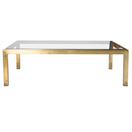 Brass Framed Coffee Table CT1711896