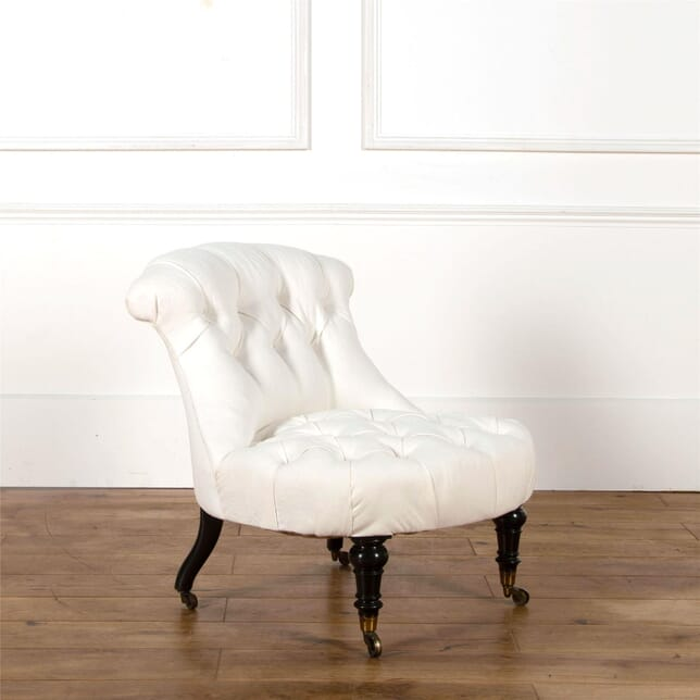Wonderful 19th Century Buttoned Chair CH6362512