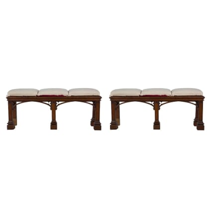 Pair of Oak Window Seats SB274281