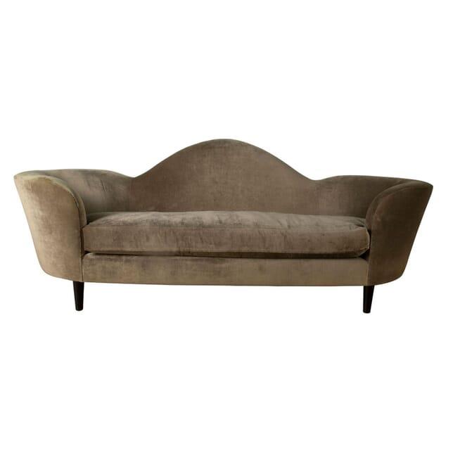 English Curvilinear Sofa SB1661035