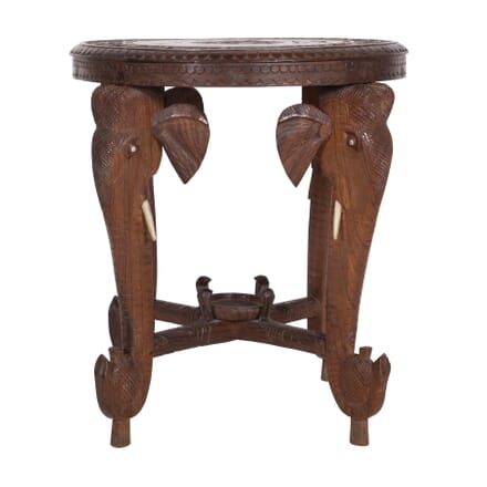 Indian Rosewood Elephant Table TC4559701