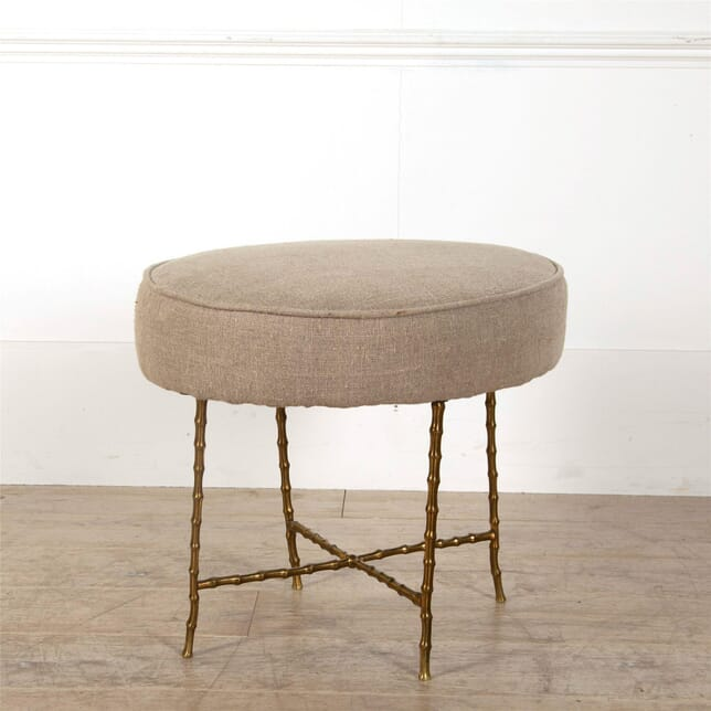 19th Century Faux Bamboo Stool ST607003