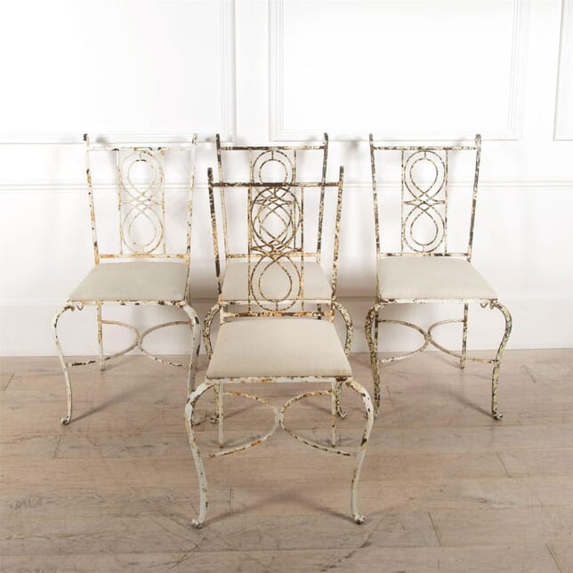 Upholstered Iron Chairs CH7461492